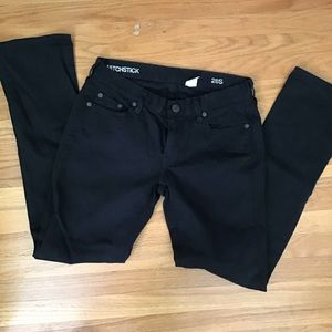 J. Crew black jeans Matchstick 28S